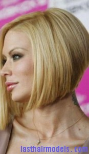 jenna jameson4 174x300 Short Swing Bob Hairstyle