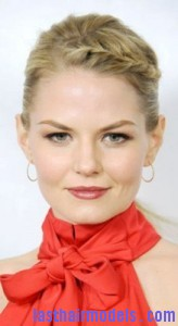 jennifer morrison 164x300 Jennifer Morrison With Front Braids