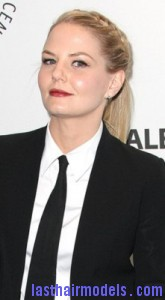 jennifer morrison5 165x300 Jennifer Morrison With Front Braids