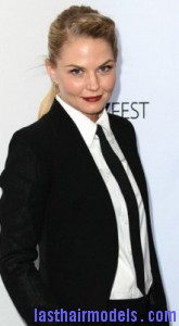 jennifer morrison7 165x300 Jennifer Morrison With Front Braids