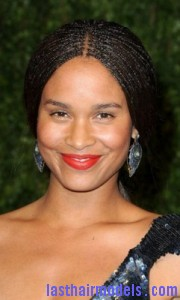 joy bryant 180x300 Hairstyle With Box Braids