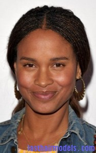 joy bryant3 188x300 Hairstyle With Box Braids