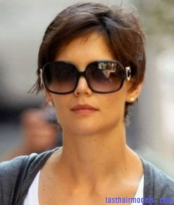 katie holmes pixie Katie Holmes short crop hairstyle: Sexy and attractive!