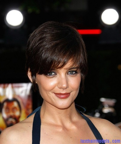 katie holmes short hairstyle Katie Holmes short crop hairstyle: Sexy and attractive!