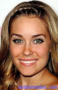 lauren conrad2 194x300 Methods To Braid Fringes