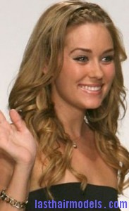 lauren conrad3 183x300 Methods To Braid Fringes