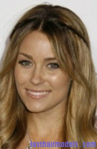 lauren conrad4 195x300 Methods To Braid Fringes