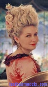 marie antoinette5 166x300 Marie Antoinette Hairstyle