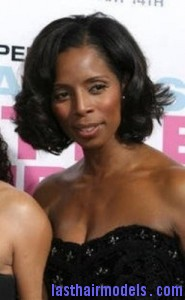 tasha smith2 185x300 Full Bodied Bob Hairstyle