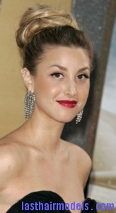 whitney port21 164x300 Bouffant Bun