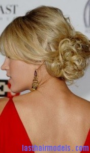carrie underwood2 177x300 Tendril Hair Bun