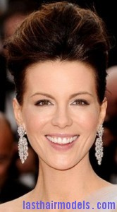 kate beckinsale 166x300 Bouffant Updo