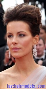 kate beckinsale4 158x300 Bouffant Updo