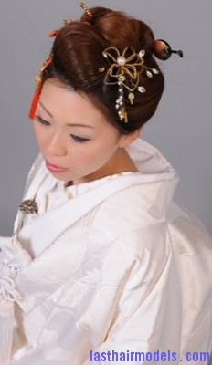 Kimono Hairstyle5 Last Hair Models Hair Styles Last
