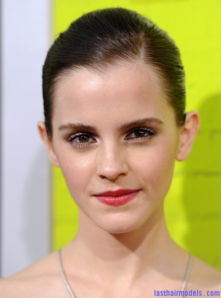 Emma+Watson+Makeup+Red+Lipstick+BG3Ts9Pfa4Al Emma Watsons tight ballerina bun: Looking as polished as ever!
