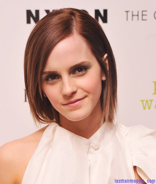 Emma Watson S Layered Razorcut Short And Stylish Last