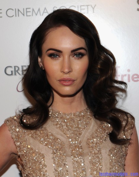 Megan+Fox+Cinema+Society+People+StyleWatch+0k6wpD784c9l Megan Fox's classic bottle curls: Defined in perfection!