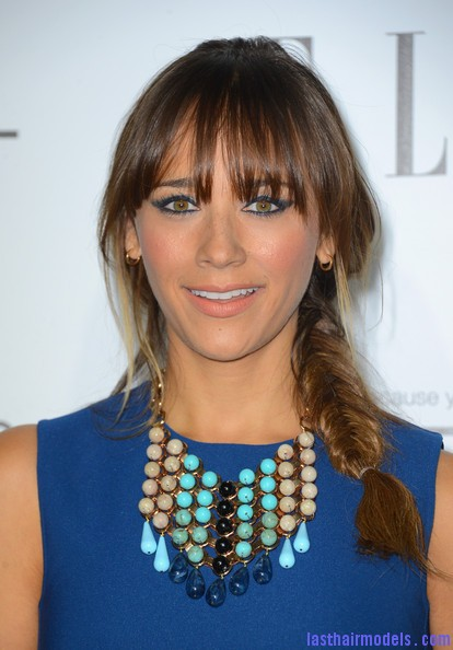Rashida+Jones+Long+Hairstyles+Long+Braided+cnh eoHKnU1l Gorgeous fish plait: Sexy and beautiful!