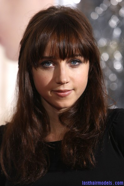 Zoe+Kazan+Long+Hairstyles+Long+Wavy+Cut+Bangs+hBw94uVTE vl Zoe Kazan's wavy half tie: Gorgeous hairstyle with bangs!