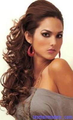 Incredible Curly Side Ponytail3 Last Hair Models Hair Styles Last Hair Hairstyles For Men Maxibearus