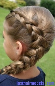 five strand dutch braid6 192x300 Five Strand Dutch Braid