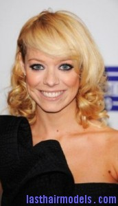 liz mcclarnon 172x300 Liz McClarnon With Angled Bangs