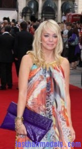 liz mcclarnon5 165x300 Liz McClarnon With Angled Bangs