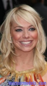 liz mcclarnon7 164x300 Liz McClarnon With Angled Bangs