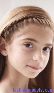 tiara braid 176x300 Tiara Braid Hairstyle