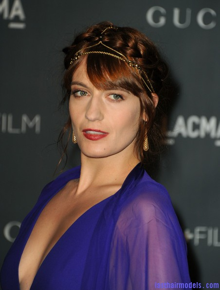 Florence Welch Updos Braided Updo Cnovsfg0n89l Last Hair