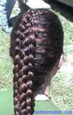 nine strand braid7 | Last Hair Models , Hair Styles | Last Hair