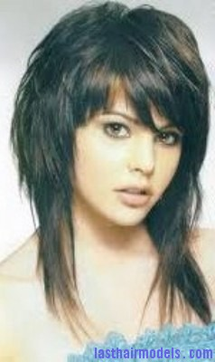 hairstyles brunette bangs shag hair with bangs shag haircuts for women