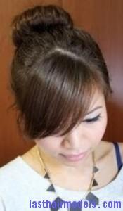 hair donut bun5