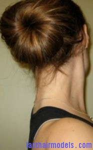 hair donut bun7