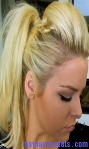 mohawk ponytail3 180x300 Mohawk Ponytail