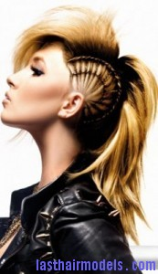 mohawk ponytail6 173x300 Mohawk Ponytail
