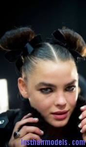 ox horns hairstyle