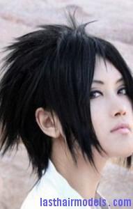 sasuke hair