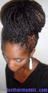 box braid bun6
