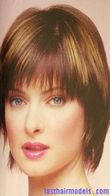 Fabulous Hairstyle With Feathered Bob Last Hair Models Hair Styles Short Hairstyles Gunalazisus