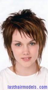 semi-shaggy hair