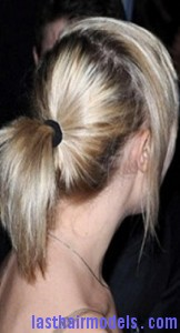 side bangs ponytail6
