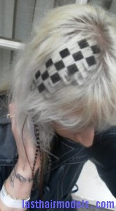 checkerboard hairstyle7 165x300 Checkerboard Hairstyle