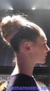 voluminous looped bun5