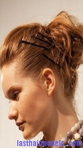 voluminous looped bun8