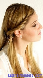 front twist ponytail2