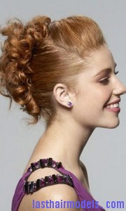 pin curl updo5