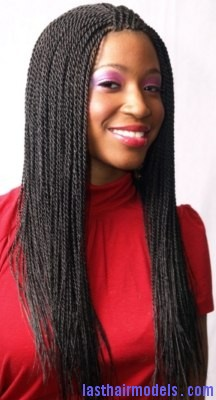 Awesome Hairstyle With Senegalese Twist Last Hair Models Hair Styles Short Hairstyles Gunalazisus