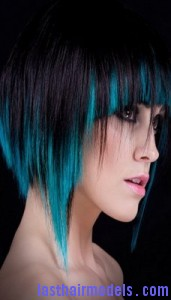 tinted hair