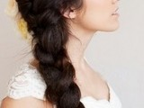 fat french braid